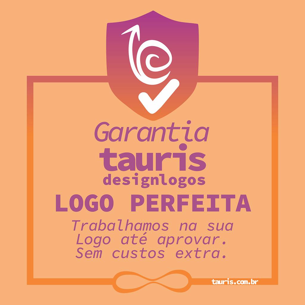 garantia da logomarca perfeita tauris design de logos alterações ilimitadas