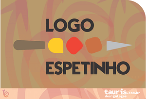 Criamos logomarcas Espetinho Sushi Churrasco Restaurante Bar Pub Italiana Peruana Árabe Fast Food Natural Veggie Delivery App Gastronomia Ifood Rappi Uber Eats