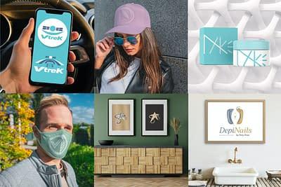 mosaico logomarcas loja logos logotipos