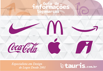 Observe que as logos consolidadas no mercado são relembradas mesmo quando aplicadas em cores diferentes das tradicionais e mesmo com a supressão de sua tipologia ou logotipia escrita
