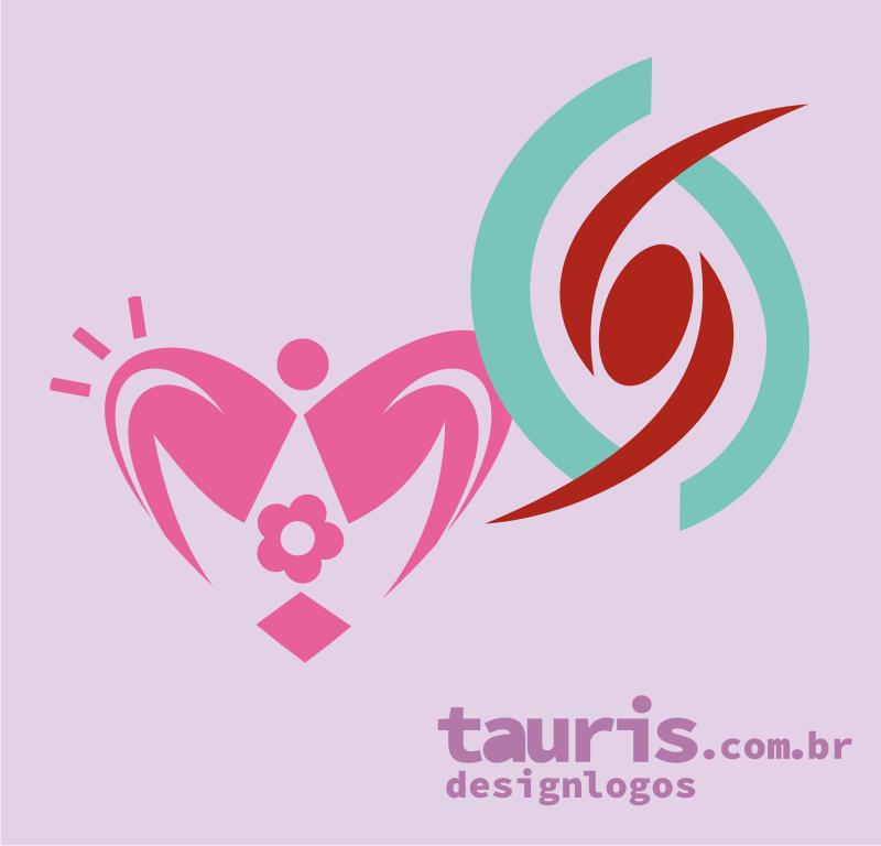 logomarca logotipo logo marca brand designer profissional moda feminina fisioterapia símbolos segmento feminino